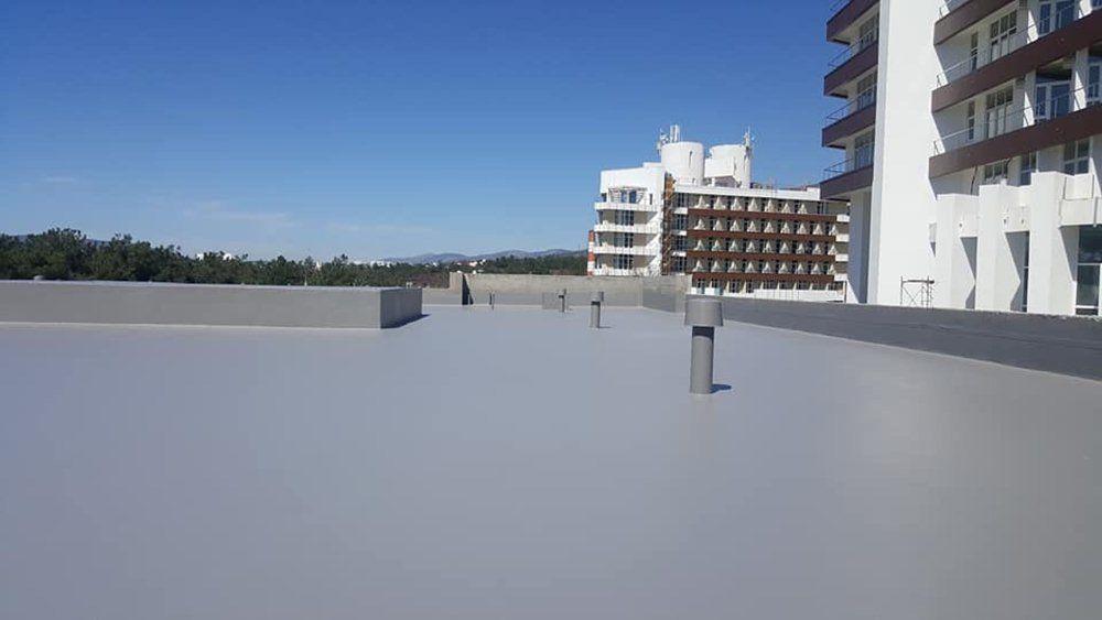 beton zeminlerde poliürea sprey