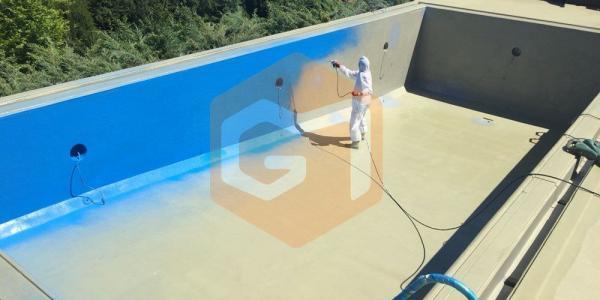 poliürea havuz yalıtımı