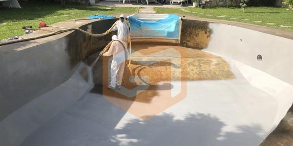 poliürea kaplama havuz izolasyonu