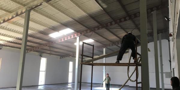 poliüretan sprey atermit çatı izolasyonu