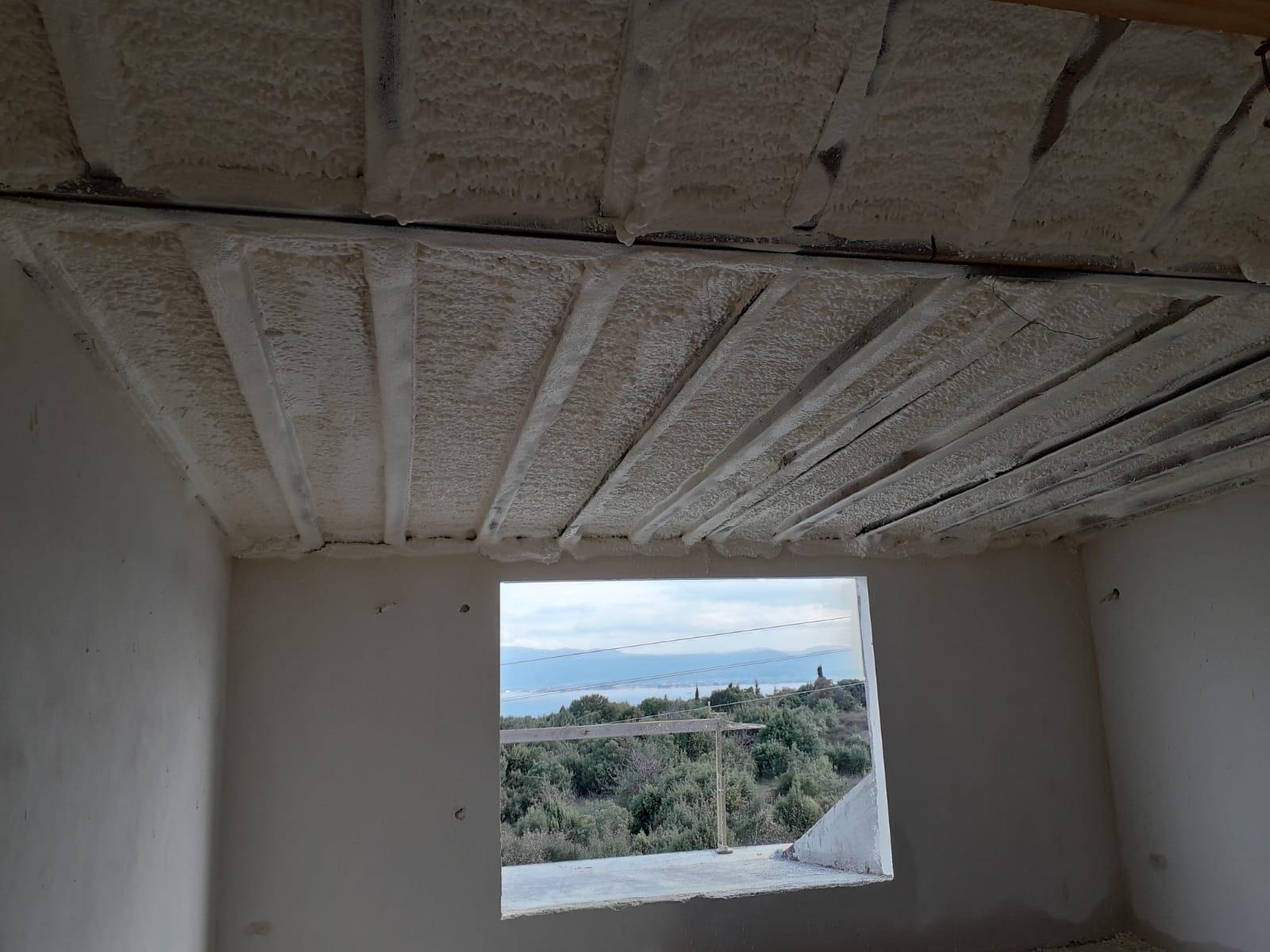 edirne sıkma köpük çatı izolasyonu